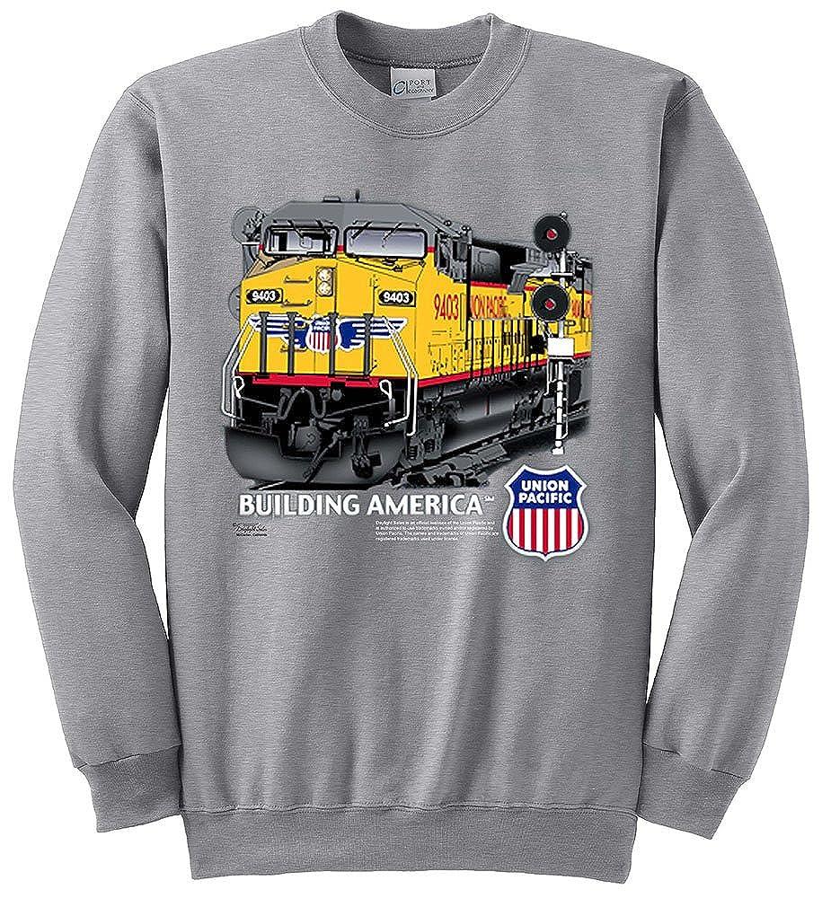 Union Pacific Building America C44-9W Authentic Railroad Sweatshirt