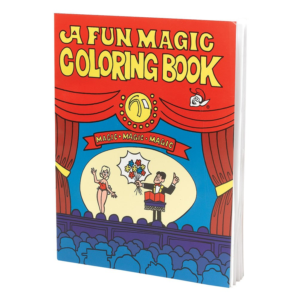 One Size Multi Bristol Novelty MC146 Magic Colouring Book