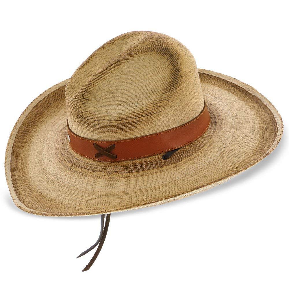 Stetson Dunbar Palm Straw Western Hat