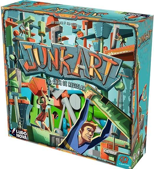 Ludonova- Junk Art - Juego de mesa - Español (LDNV130001) , color/modelo surtido: Amazon.es: Juguetes y juegos