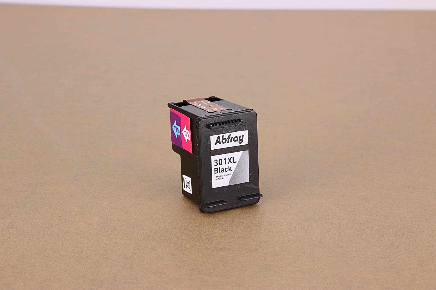 OfficeJet 2620 4630 Envy 4500 4502 4507 5530 Compatible with HP DeskJet 1050a 1510 2050 2510 2540 2X Black Abfray 301XL Replacement for HP 301 XL Ink Cartridges