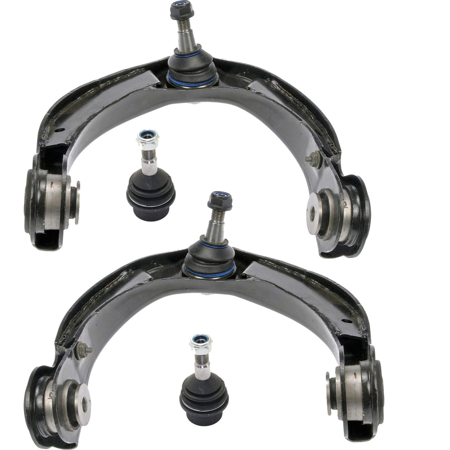 SCITOO 4pcs Suspension Kit 2 Upper Control Arm 2 Lower Ball Joint fit 2006-2010 Jeep Commander 2005-2010 Jeep Grand Cherokee K80629