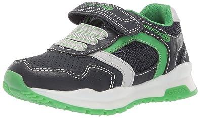 Geox SP , Chaussures de Ville à Lacets pour garçon Gris