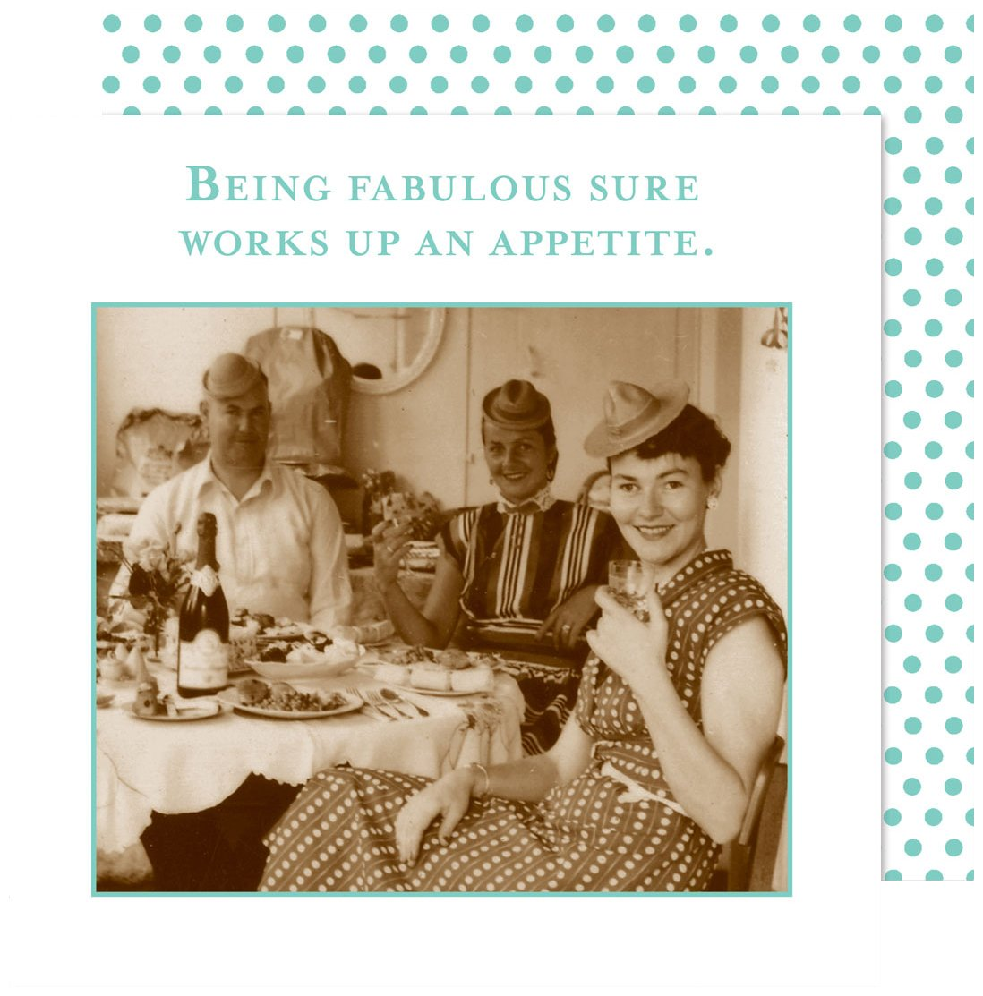 Shannon Martin Design Being Fabulous 3-Ply Paper Beverage Napkins (20 Count)