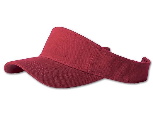 12 Lot (One Color) Visor Caps- Maroon at Amazon Women s Clothing ... e8e2ca4015b2