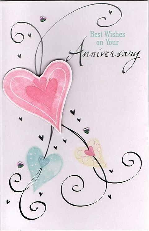 Biglietti Per Anniversario Di Matrimonio.Greetingles 8 Biglietti Di Auguri Assortiti Dallo Stile
