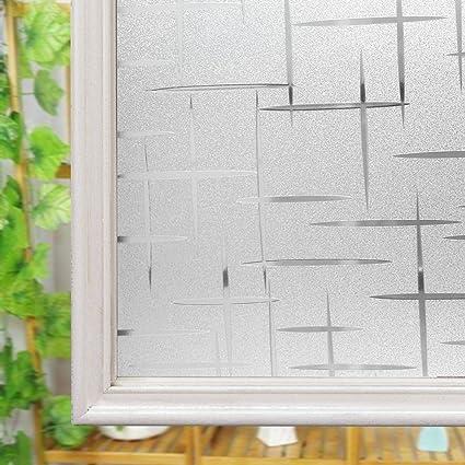 Pellicola Autoadesiva Per Finestra Anti Uv Statica Decorativa E
