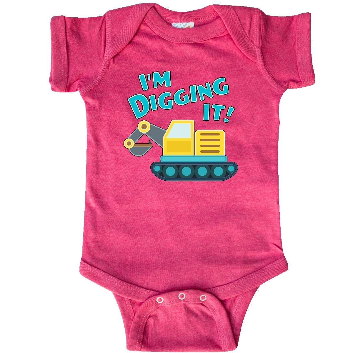 Amazon com: inktastic - Im Digging It- steam Shovel Fun Infant