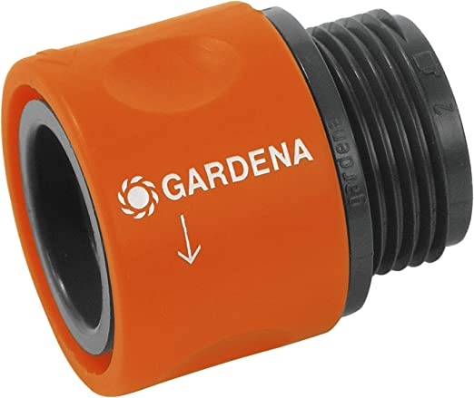 Gardena 2917-20 - Conector rosca para conectar la manguera al adaptador para grifos: Amazon.es: Jardín