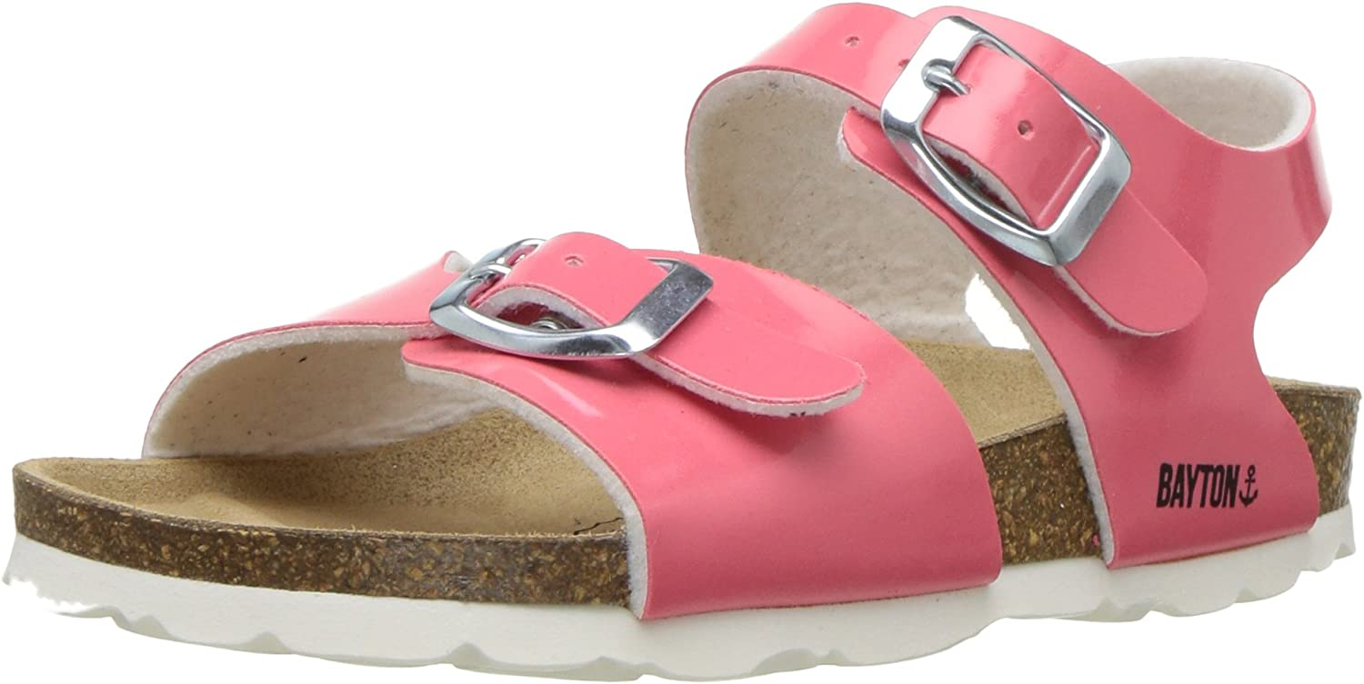 23 Medium EU Little Kid Fushsia BAYTON Girls PEGASE Sandal 5 US