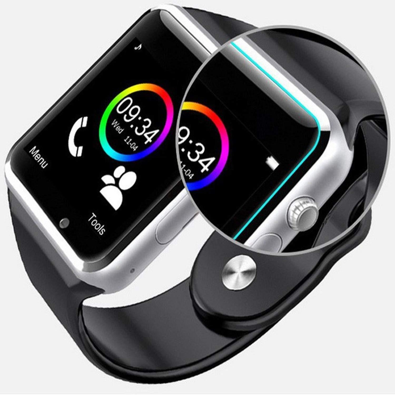 Amazon.com: Beauty-OU A1 Wristwatch Bluetooth Smart Watch ...