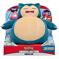 Pokemon PKW0027 Snooze Action Snorlax