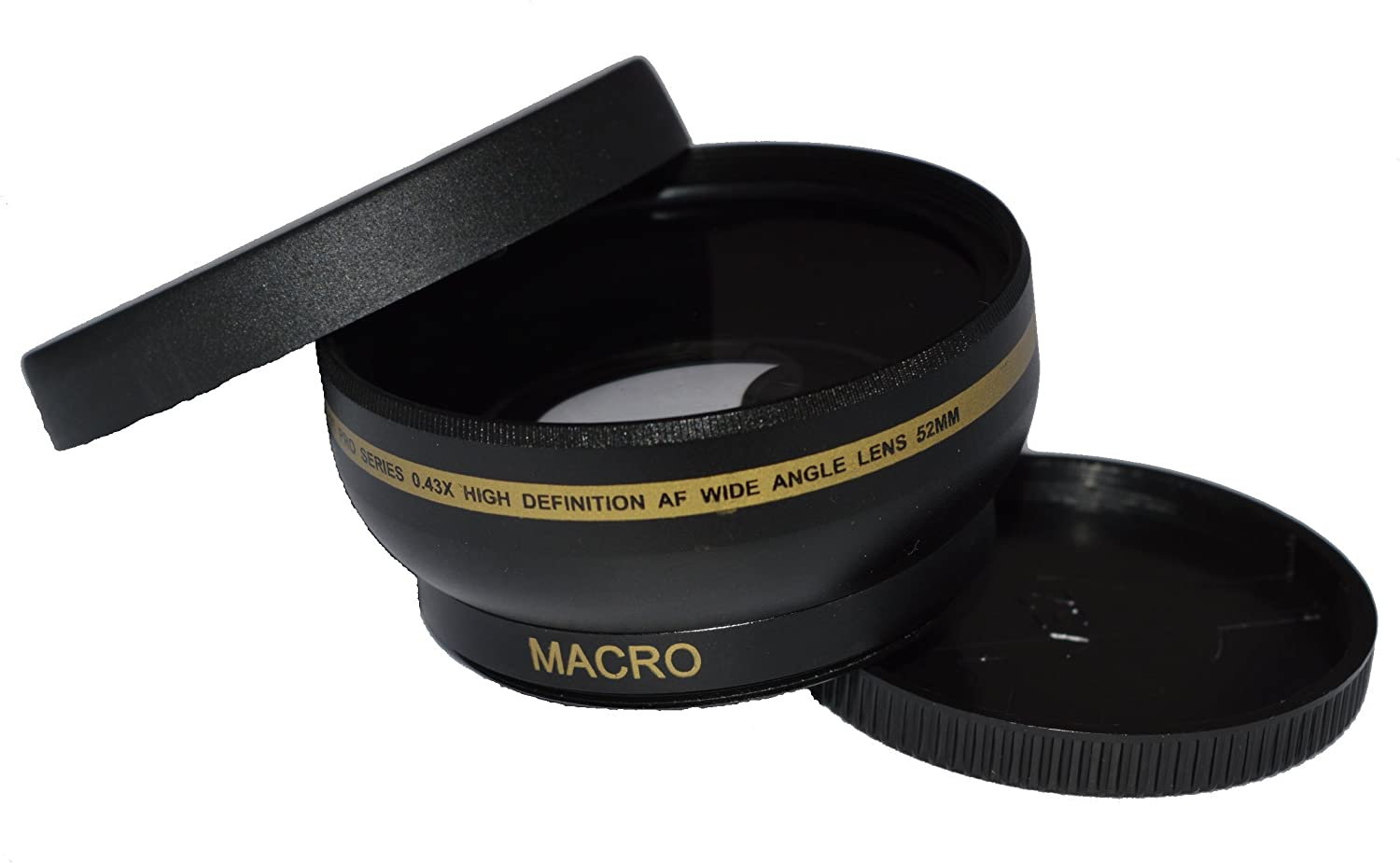 52mm High Definition Wide Angle Macro Lens For Canon Ef 35