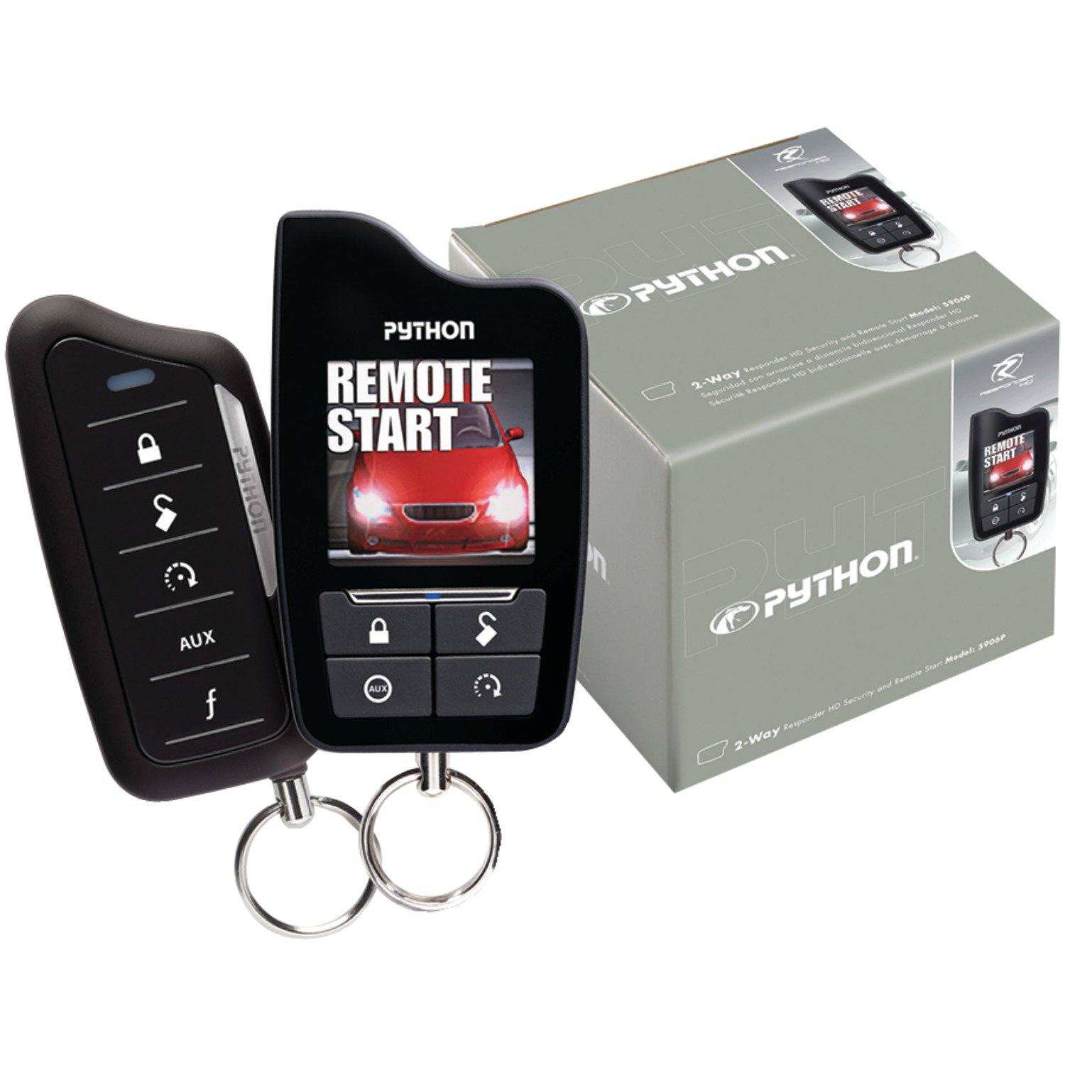 amazon com directed electronics inc 5906p responder sst 2 way rh amazon com Python Electronics python car alarm remote manual