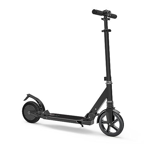 Hiboy - Patinete - Scooter Semi-Eléctrico Plegable - Modelo E09 - Negro