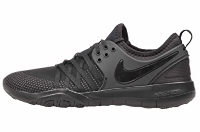 b2423a33a7961 Image Unavailable. Image not available for. Colour  Nike Womens Free TR 7  Training Shoes Black Black-Dark Grey ...