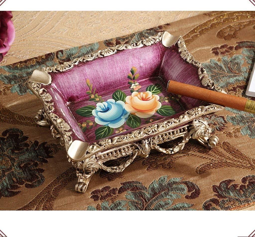 葉巻灰皿, ヒョン回リビングルームのコーヒーテーブルの装飾品、欧州灰皿創造的人格灰皿オフィスの装飾の新しいレトロな贈り物