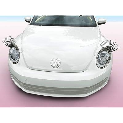 Carlashes for Beetle (2012-present) - Classic Black 3D Car Eyelashes: Automotive