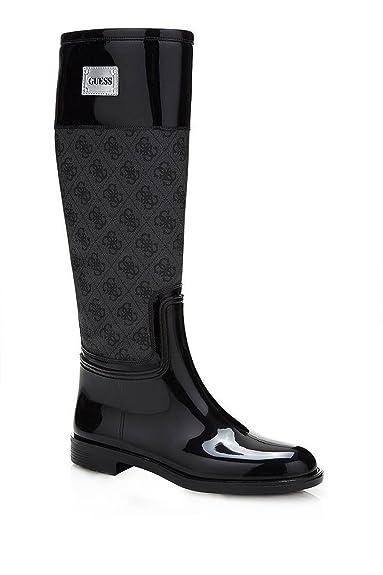Guess Bottes De Pluie Logotée Sissy2 Jeans  Amazon.fr  Chaussures et ... 3fa6939cf0ae