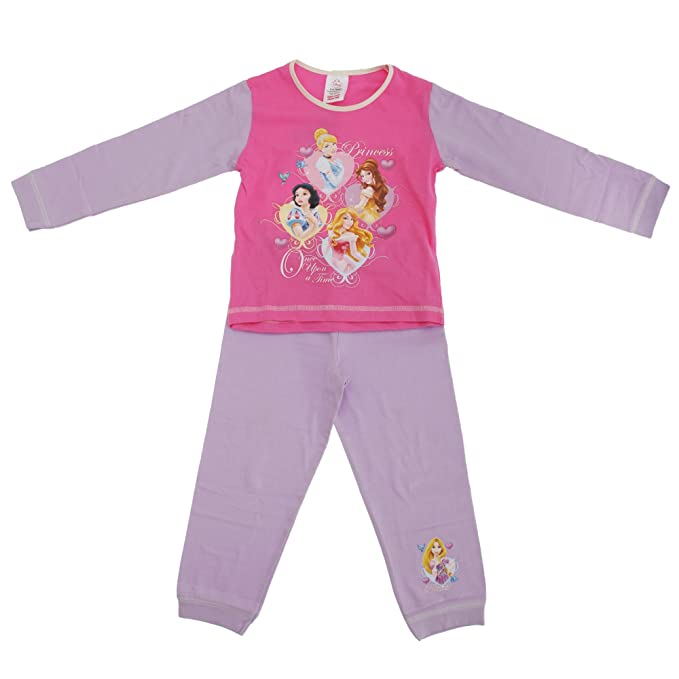 Disney - Conjunto de Pijama de Manga Larga y pantalón Largo con diseño de Princesas Modelo