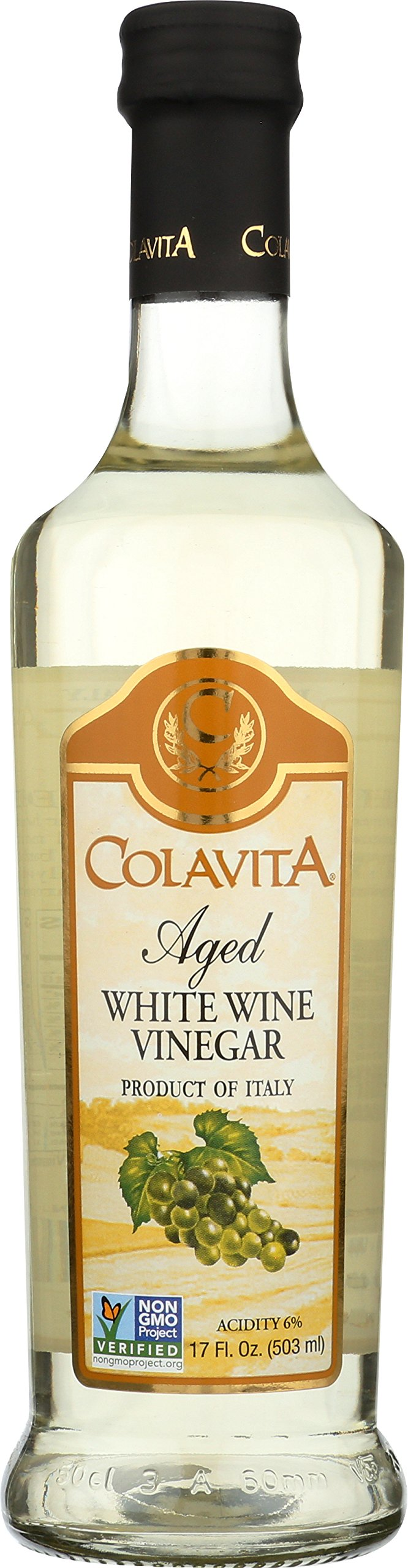 Colavita White Wine Vinegar, 17 oz by Colavita (Image #1)