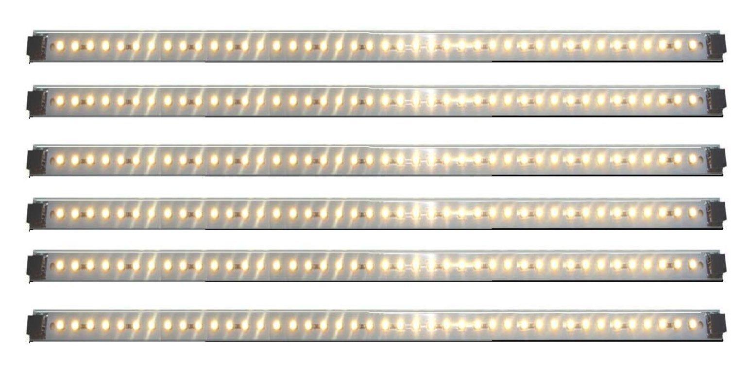 Inspired LED | Pro Series | 42 LED 6 Panel Pack ~3000K Warm White | LED light Panels