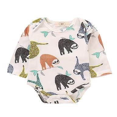 646dc0eb0005 Amazon.com  Newborn Girl Clothes Baby Blankets for Girls Boys Sloth ...