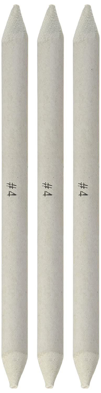 Jack Richeson Blending Stomp, 3/8-Inch, Size 4, Set of 3 710307