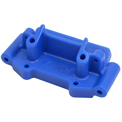 RPM 73755 Front Bulkhead for Traxxas 1/10 2WD Vehicles, Blue: Toys & Games