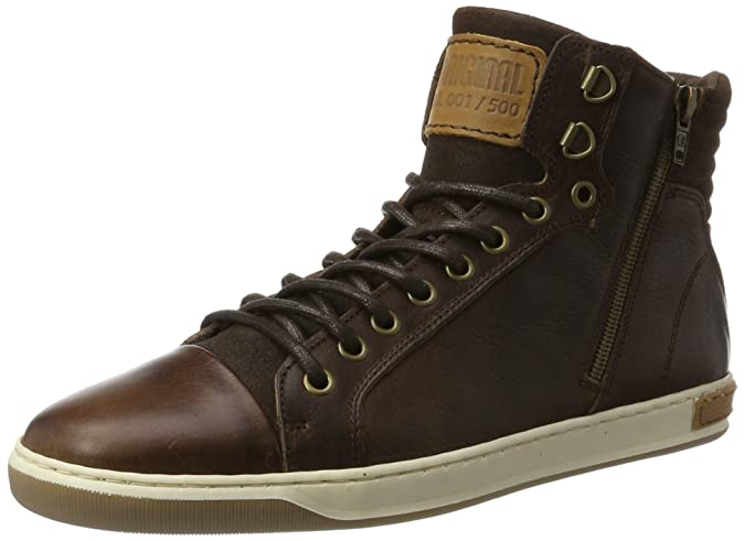 BULLBOXER 5836A, Zapatillas Altas para Hombre, marrón, 44 EU: Amazon.es: Zapatos y complementos