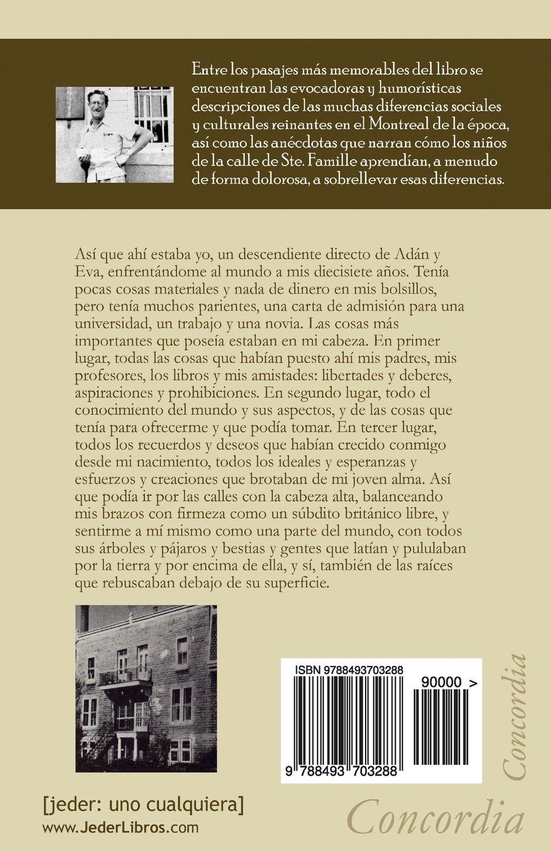 Una infancia en Montreal (Spanish Edition): Eric Berne, Susana Arjona, Terry Berne, Claude Steiner: 9788493703288: Amazon.com: Books