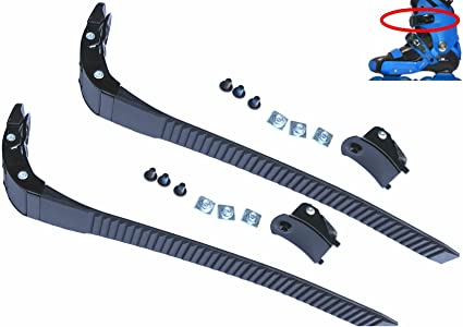 Replacement Inline Roller Skating Strap with Screws Parts Accessory Black