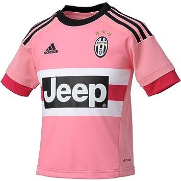 Adidas Juve A JSY Y - Camiseta para niño, Color Rosa/Fucsia / Negro/Blanco, Talla 176: Amazon.es: Deportes y aire libre