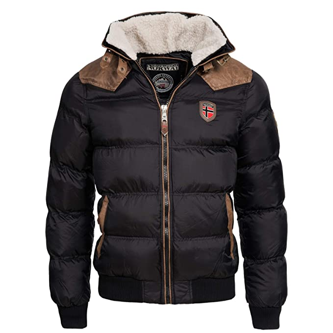 Geographical Norway - Chaqueta - Parka - para Hombre: Amazon ...