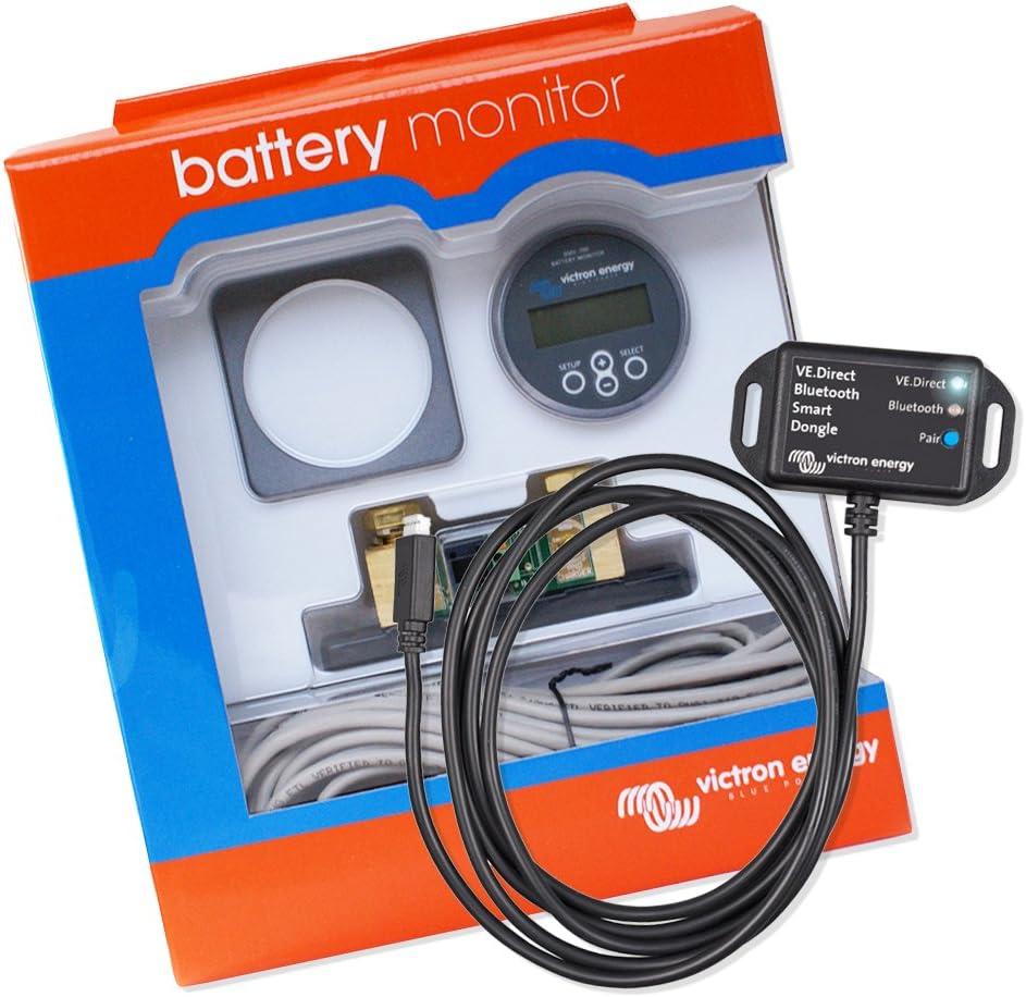 Batterie Monitor Batteriecomputer Batteriewächter Spannungswächter Victron Energy Set Bmv 700 Mit Ve Direct Bluetooth Smart Dongle Auto