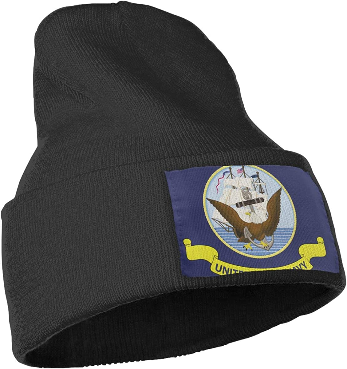 United States Navy Flag Unisex Fashion Knitted Hat Luxury Hip-Hop Cap