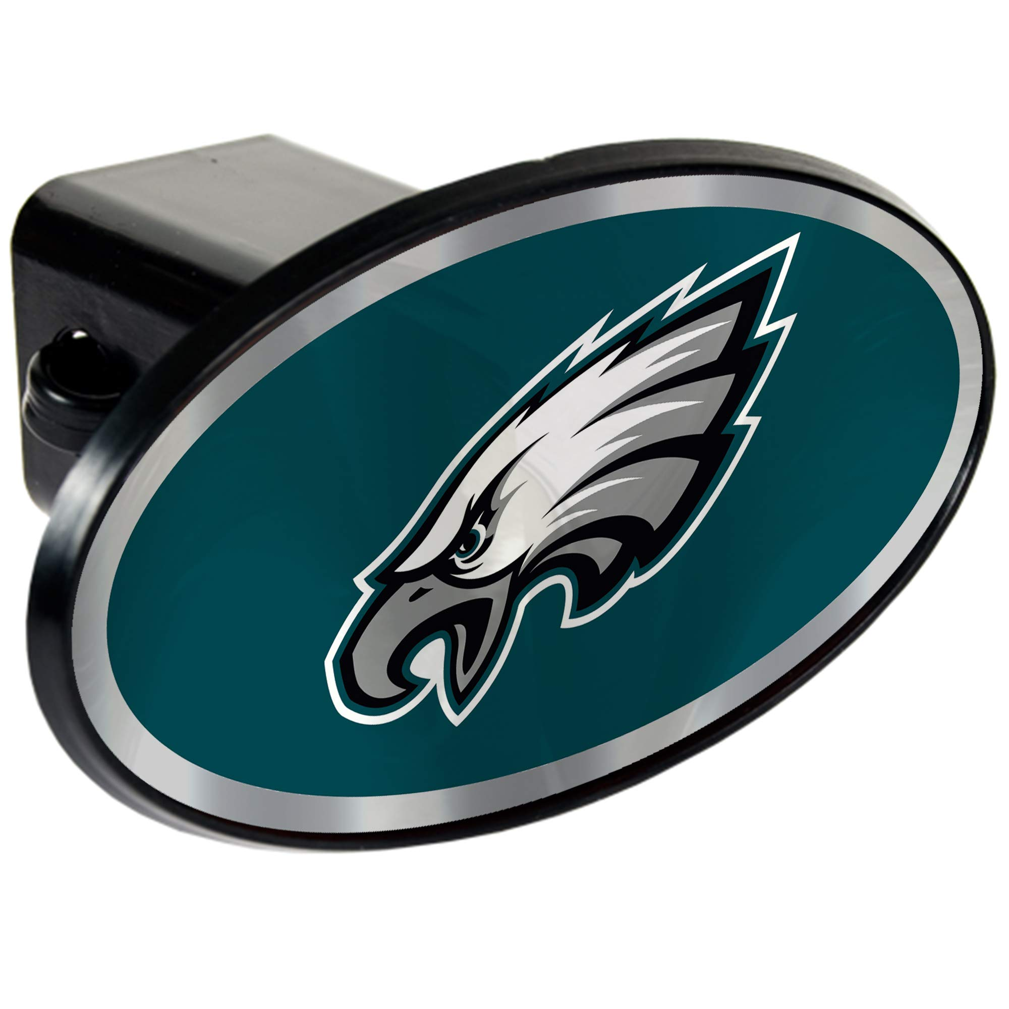 NFL Philadelphia Eagles Tow Hitch Cover Plug w/pin for Car-Truck-SUV 2'' Receiver by Quality Hitch Covers