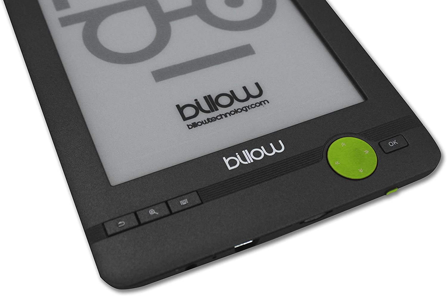 Billow Technology E03FL - Libro electrónico, Gris/Verde: Billow ...