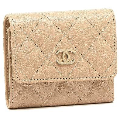 on sale 4562c 13dcf Amazon | [シャネル]折財布 レディース CHANEL A70301 Y33287 ...