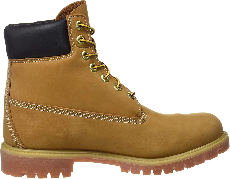 Timberland 6-Inch Premium Waterproof Boot, Botas Clasicas Unisex Niños