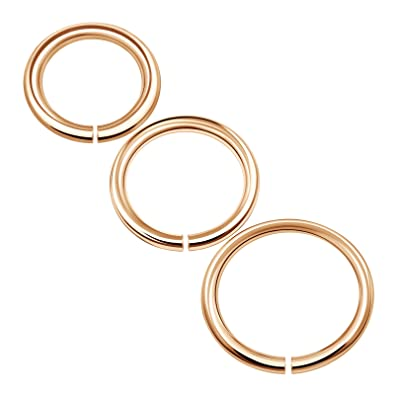 Amazon.com: 3pcs acero inoxidable Anillo de Nariz Aro ...