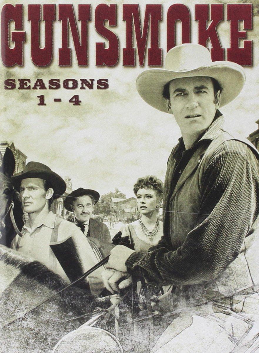 Amazon.com: Gunsmoke: Seasons 1-4: Milburn Stone, Dennis Weaver, James  Arness, Ken Curtis, Amanda Blake: Movies & TV