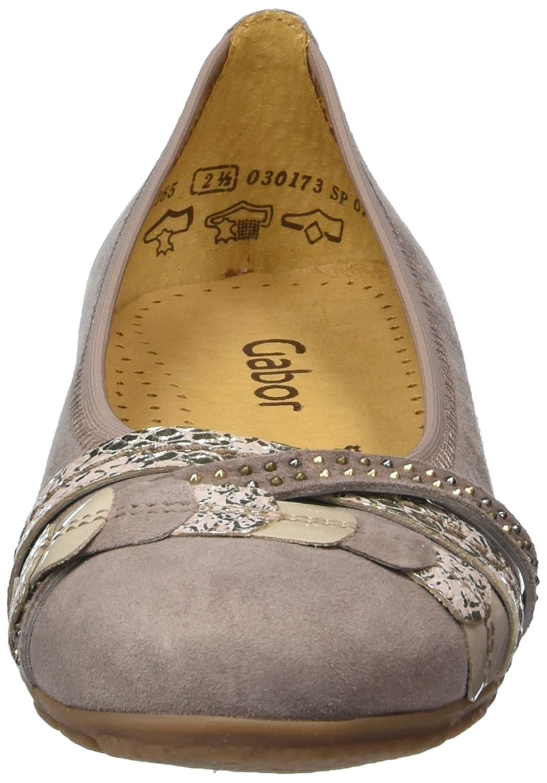 Gabor 44.165.12 Damen Ballerinas Mehrfarbig (14 (14 Mehrfarbig Darknude/Rose/Sand) 99319f
