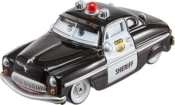 Cars 3- Vehículo Sherif Coche de Juguete Policía, Multicolor (Mattel FLM15) , color/modelo surtido: Amazon.es: Juguetes y juegos