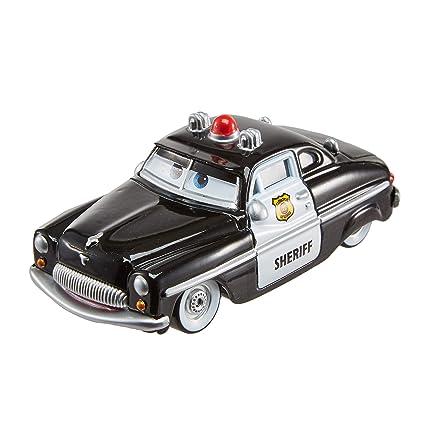 Amazon Com Disney Pixar Cars Die Cast Sheriff Vehicle Toys Games