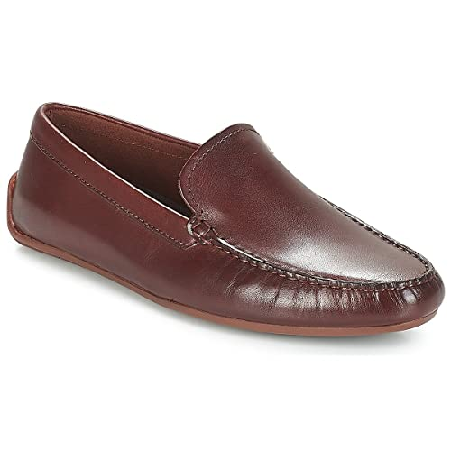 Clarks Reazor Edge, Mocasines para Hombre, Azul (Navy Nubuck-), 47 EU: Amazon.es: Zapatos y complementos