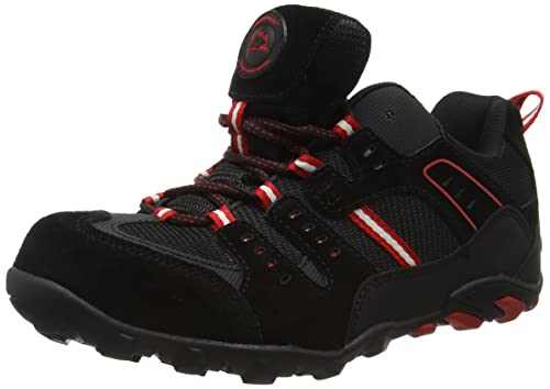 Groundwork GW400 N - Zapatos de seguridad, de cuero para hombre, Negro (Black