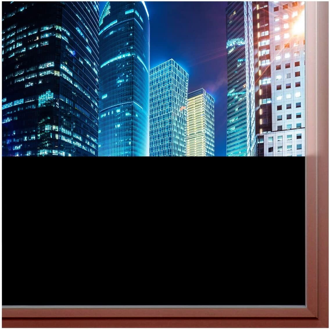 "BDF BLKT Window Film Blackout Privacy (24"" X 12Ft)"