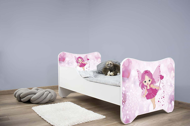 topbeds Bett f/ür Kinder Design Matratze Inklusive Elf