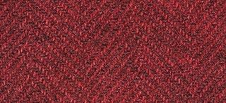 "product image for Weeks Dye Works Wool Fat Quarter Herringbone Fabric, 16"" by 26"", Merlot"
